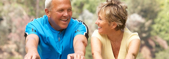 aging active people